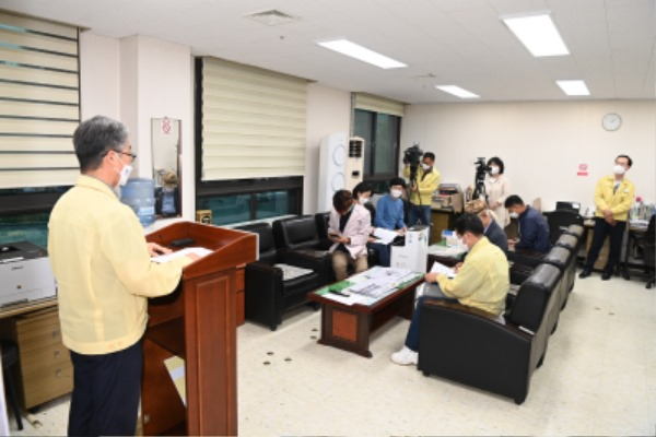 김천시, 코로나19 확산방지를 위한 사회적 거리두기 2단계 연장-안전재난과(사진3).JPG