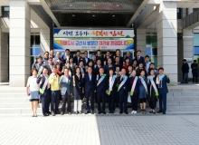 [김천]자매도시 군산시 초청 농수특산물 직거래행사 호황