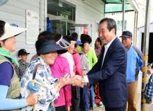 [김천]김충섭 김천시장, 무료급식 봉사활동