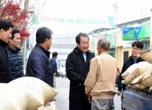 [김천]김충섭 김천시장, 수매현장 돌며 농업인들의 노고를 격려