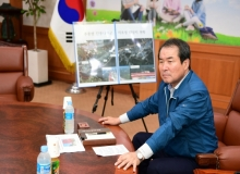 [김천]추풍령단풍나무군락지조성 기본계획 중간보고회 개최