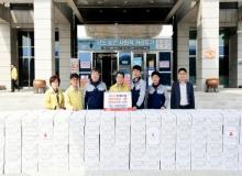 [김천]㈜가교농산·영농조합법인송림 새송이버섯 전달