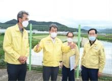 [김천]수해대비 농업기반시설 현장점검 실시